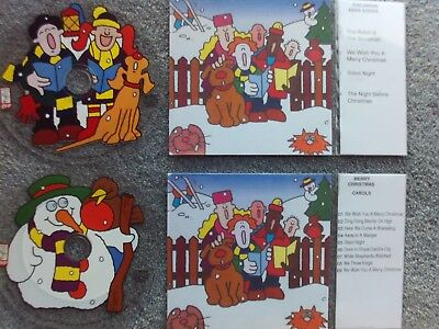 Childrens Christmas Songs   2 x Jukebox CDs for NSM Jukeboxes +  Title Cards