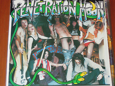 Penetration Moon Fifth A Day GREEN VINYL SFTRI UNPLAYED NM 7""