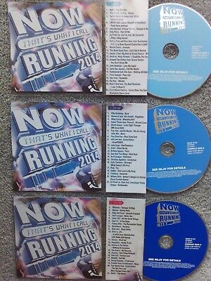 Now Thats Running 2014  3 x Jukebox CDs for NSM Jukeboxes + matching Title Cards