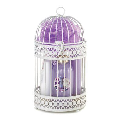 Bath & Body Basket Gift Set Candle Lantern 5 Different Scents Mix & Match Any 3
