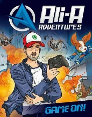 Ali-A Adventures Game On! by Ali-A 9780141388168 (Hardback, 2017)