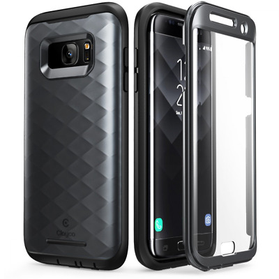 Galaxy S7 Edge Case, Clayco [Hera Series] Full-body Rugged Case with Built-in Sc