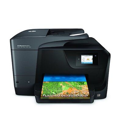 HP OfficeJet Pro 8710 Wireless All-in-One Photo Printer with Mobile Printing