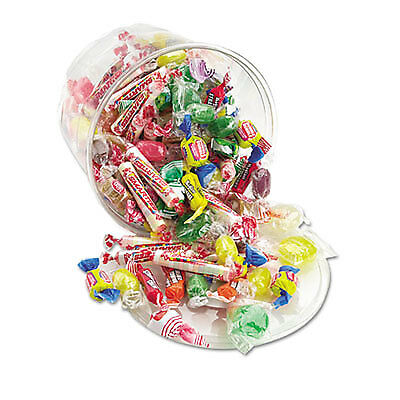 All Tyme Favorite Assorted Candies and Gum, 2 lb Resealable Plastic Tub 00002