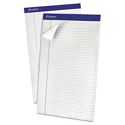Recycled Writing Pads, Legal, White, 50 Sheets, Dozen 20-180