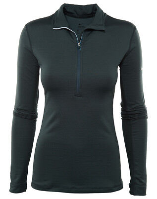 Nike Pro Hyperwarm Womens 803120-364 Seaweed Green Dri-fit, Training Top, SZ- M