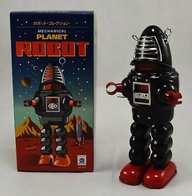Genuine Schylling Tin Plate Collectors Toy - Forbidden Planets Robby the Robot