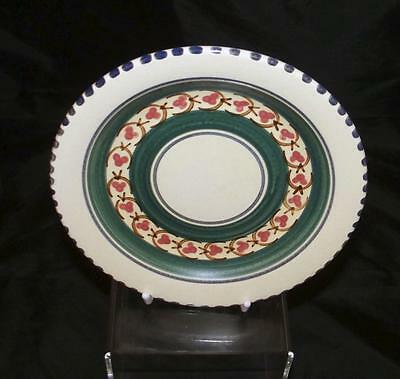 Honiton Pottery Persian Pattern Tea Plate 16cm Dia Post Collard Earthenware