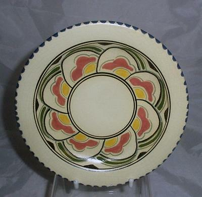 Honiton Pottery Eastern Scroll Pattern Replacement Saucer Post Collard Slipware