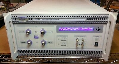 Spirent SR5500M Wireless Channel Emulator with AWGN CCO MIMO RGUI ASA2015 V3.50