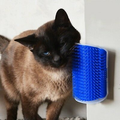 KIMHOME Pet Products For Cats Brush Corner Cat Massage Self Groomer Comb Brus...