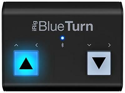 Ik Multimedia Irig Blueturn - Gira Pagine Bluetooth Per Iphone, Ipad, Mac E Andr
