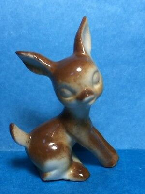 Vintage Ceramic Fawn/ Doe/Deer Figurine  #27