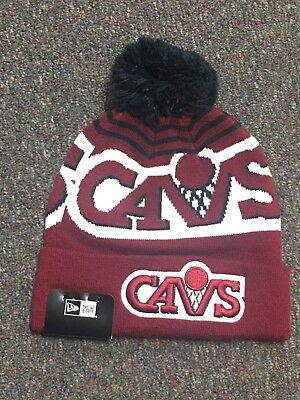 New Era Cleveland Cavaliers Stocking Hat Winter Hat Sport Knit