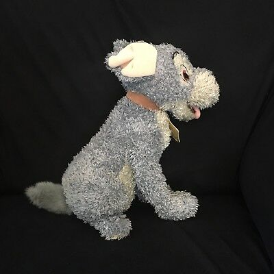Disney Store Tramp Plush / Soft Toy Beanie From Lady and The Tramp.  P3