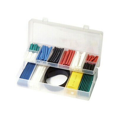 Heat Shrink Tube Set 171 Pce Adhesive Inner Wall 2:1 Variety Sizes Trade Quality
