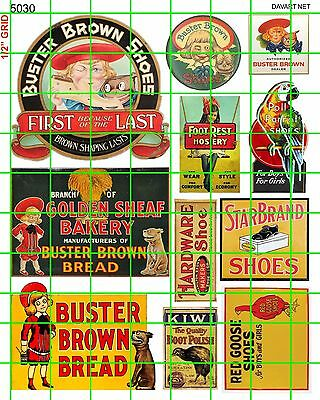 5030 Dave's Decals Ho Buster Brown Bread Red Goose Shoes Polly Parrot Kiwi More