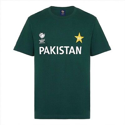 Official ICC Champions Trophy 2017 Pakistan T-Shirts @ Only £12 each,40% off !