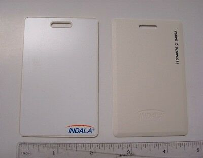 HID Indala Proximity Card FPCRD-SSSMW-0000 FlexCard, Clamshell, New, White, 26B