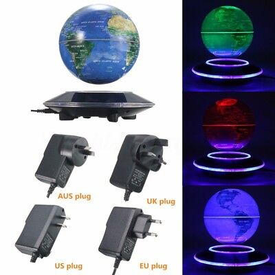 Magnetic Levitation Maglev Levitating Floating Globe World Map Decor Class gifts