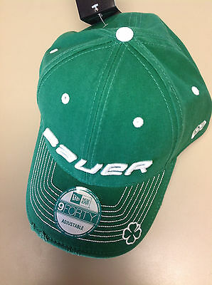 Bauer New Era 9FORTY St. Patrick's Day Adjustable Cap Green