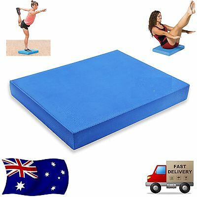 Balance Pad Mat Cushion Wobble Board Yoga Pilates Physio Posture Stability OZ
