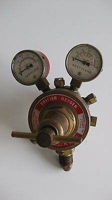 BOC Acetylene Welding Regulator Valve Brass M.15-AG