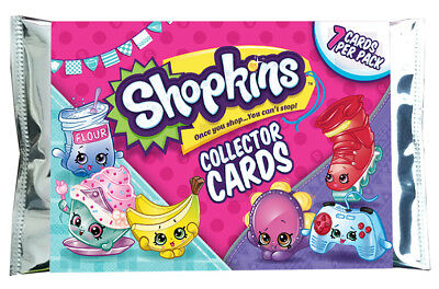 SHOPKINS Season Series 5 & 6 Collector Trading Cards 36 Sealed Packs