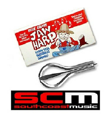 BRAND NEW  JAW HARP BLUEGRASS COUNTRY EASY TO PLAY w INSTRUCTIONS JAWHARP