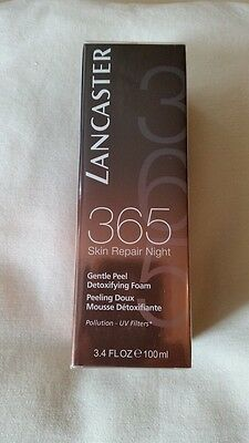 Lancaster Peeling Foam 365 Skin Repair Night 100ml OVP
