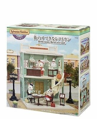Free Shipping Sylvanian Families Town series delicious restaurant  Epoch Japan