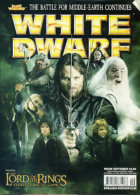 White Dwarf magazine #309 Lord of the Rings Battle for Middle Earth Games Wor...