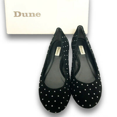 Dune Studded Ballerina Pump Size 6 UK Pre-owned