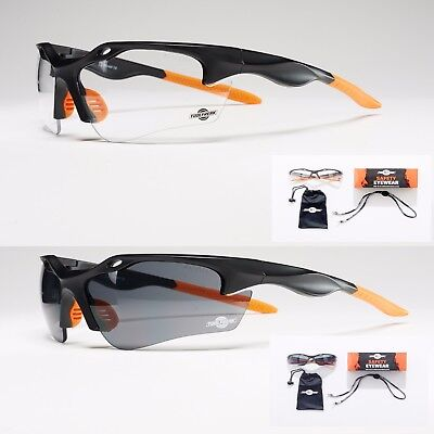 ToolFreak Safety Glasses | Guranteed Eye Protection | Unique Ultra Light Design