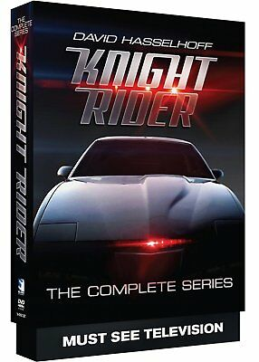 Knight Rider - The Complete Series New DVD! Ships Fast!