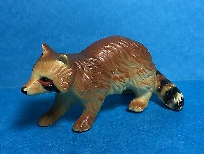 Vintage Small Ceramic Raccoon Figure / Figurine
