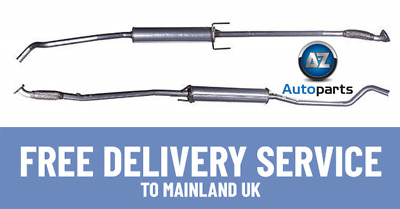 New Vauxhall Corsa 1.2 Hatchback Z12XE Z12XEP 03-06 Centre Exhaust Pipe - GM462X