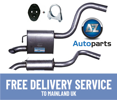 Exhaust Link pipe Mercedes W203 2.2 646963 2//2003-2//2007