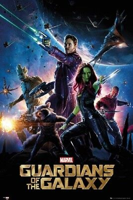 GUARDIANS OF THE GALAXY - ONE SHEET MOVIE POSTER 24x36 - MARVEL COMICS 160138
