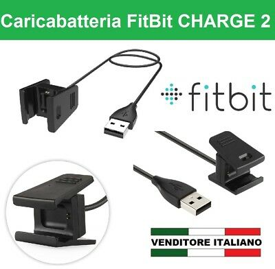 Caricabatterie cavo usb di ricarica per FITBIT CHARGE 2 FIT SPORT BIT band watch