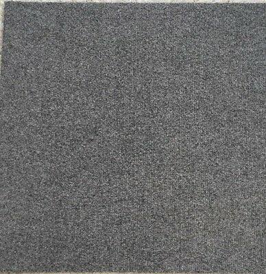 1000's of New Bitumen Backed High Quality Light Grey Carpet Tiles