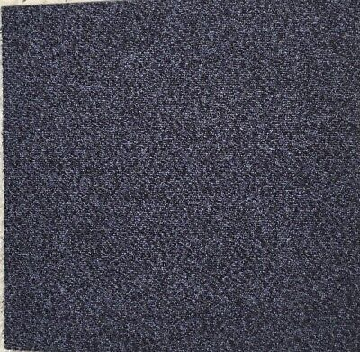 1000's of New Bitumen Backed High Quality Dark Purple Carpet Tiles