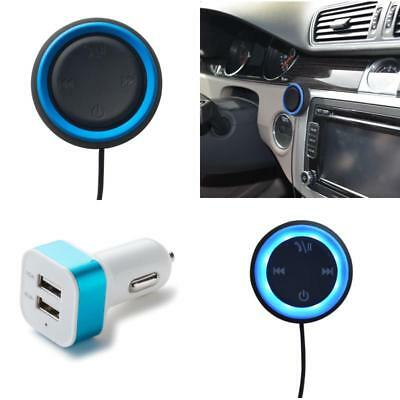 Music Receiver 3.5mm Jack Bluetooth 4.0 Handsfree Car Kit AUX Speaker For iPhone