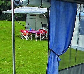 Fiamma Awning Curtain Ocean Blue - One Single Curtain Section New