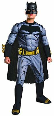 Rubie's Deluxe Muscle Chest Batman Halloween Child Costume Mask Cape Belt Small