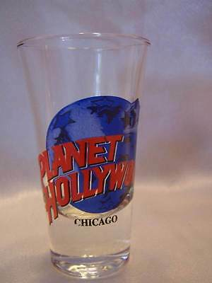Planet Hollywood CHICAGO Shot Glass 1990 MINT Condition