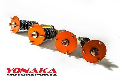Yonaka Mazda RX-7 28 Way Dampening Adjustable Coilovers FD3S RX7 Suspension 93+
