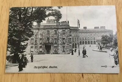Old Hall Buxton Postcard Published By Valentines.posted 1916.