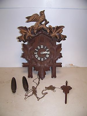 Antique Coo Coo Clock Hubertherr Germany