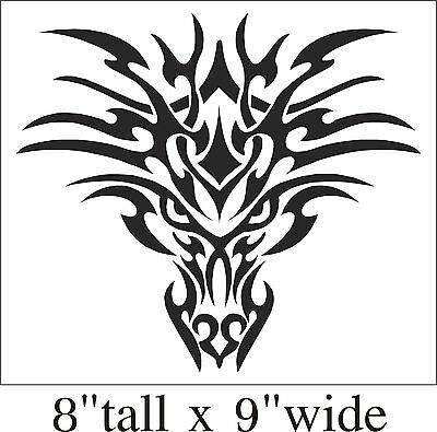 Dragon Tattoo Design Funny Car Truck Bumper Vinyl Sticker Decal Art Gift-1556